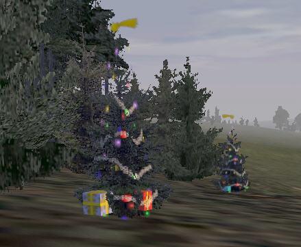 Ёлочка на островеЭверон (из игры ОФП)