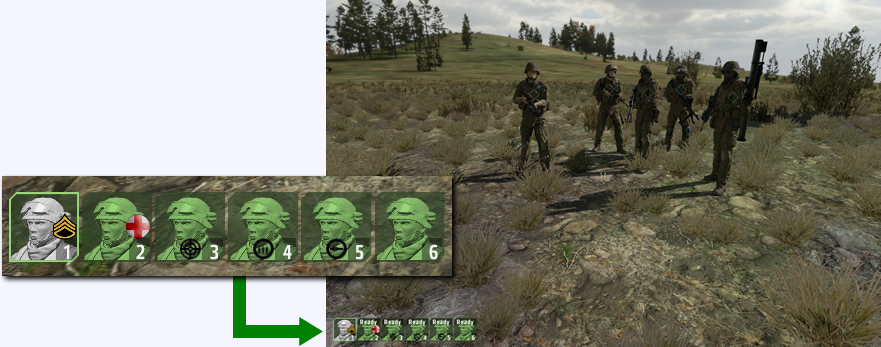 ArmA 2 User Interface