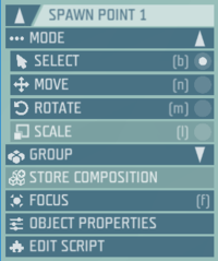 Ylands-Editor-object selection panel.png